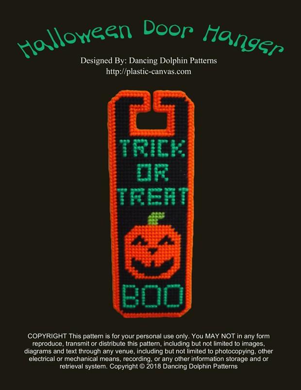 272 - Halloween Door Hanger