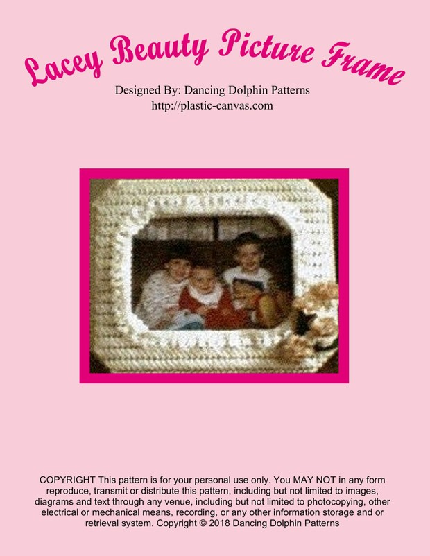 218 - Lacey Beauty Picture Frame
