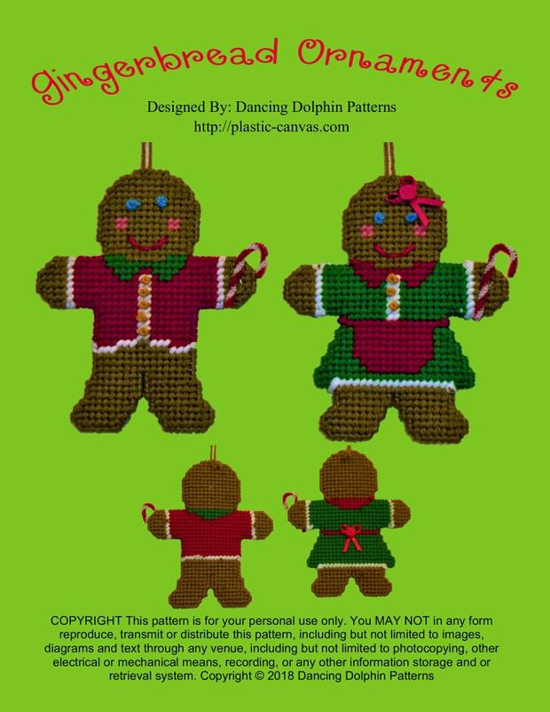 227 - Gingerbread Ornaments