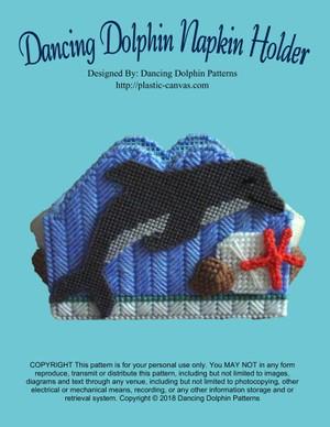 006 - Dancing Dolphin Napkin Holder