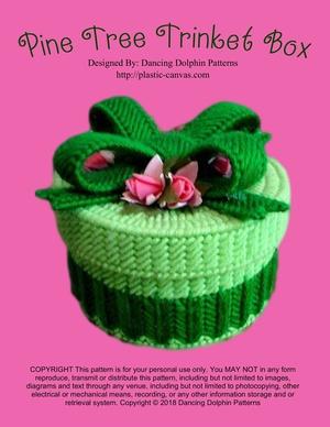 069 - Pine Tree Trinket Box