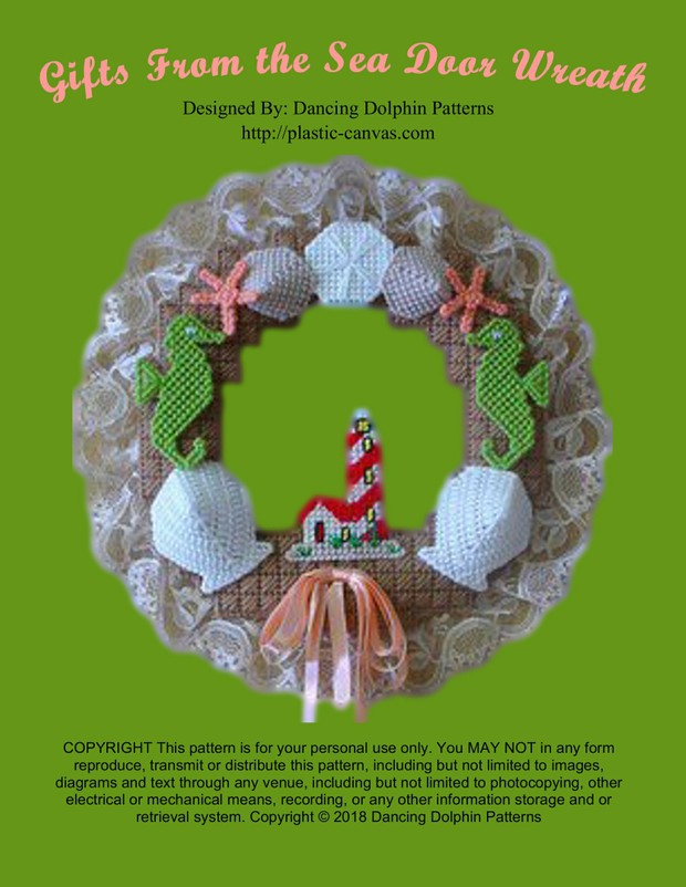 016 - Gifts From the Sea Door Wreath
