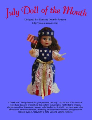 135 - July Doll of the Month