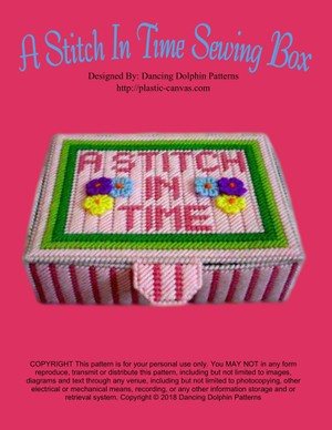228 - A Stitch In Time Sewing Box