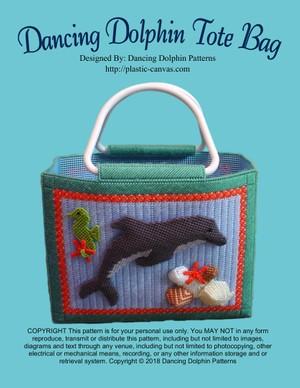 005 - Dancing Dolphin Tote Bag