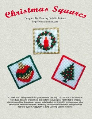 459 - Christmas Squares
