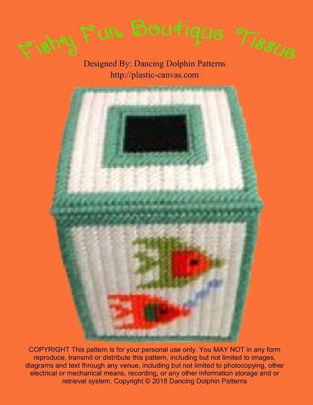 306 - Fishy Fun Boutique Tissue