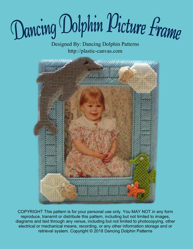 074 - Dancing Dolphin Picture Frame