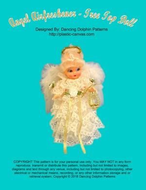 393 - Angel Airfreshener - Tree Top Doll