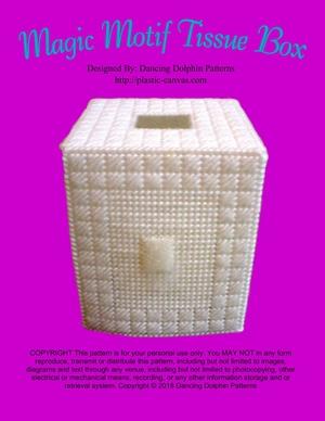 324 - Magic Motif Tissue Box