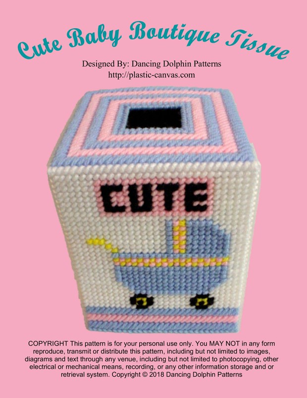 302 - Cute Baby Boutique Tissue