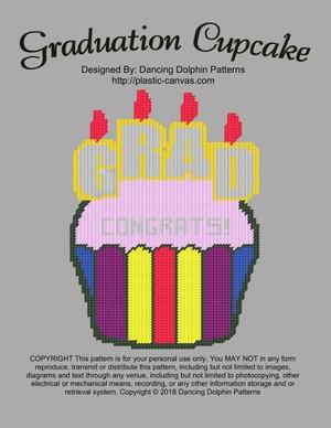 564 - Graduation Cupcake