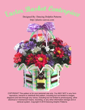 037 - Easter Basket Centerpiece