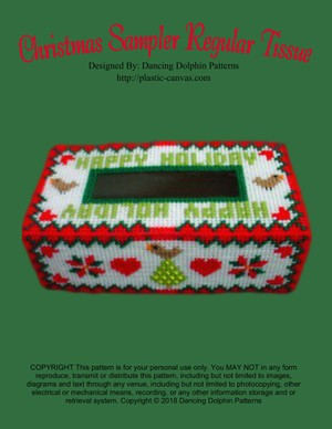 260 - Christmas Sampler Regular Tissue