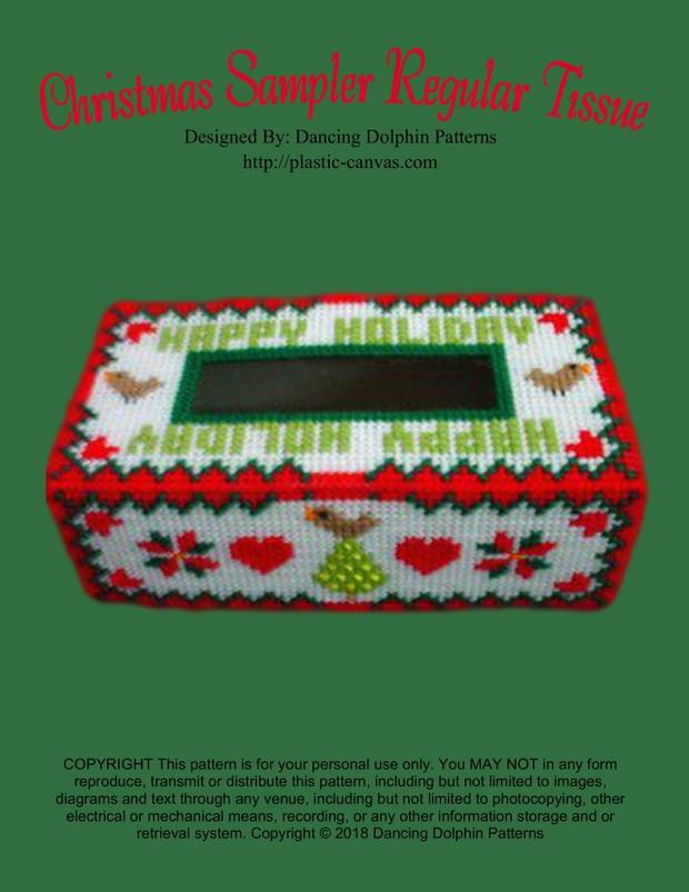 260 - Christmas Sampler Regular Tissue