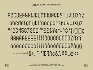 ATL Typeface