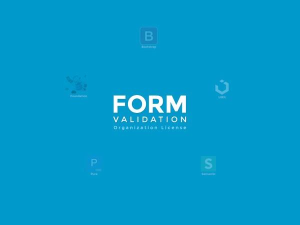 FormValidation Organization License