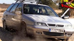 AWESOME CAR STUCK EVIL CRISTINE