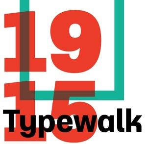 Typewalk 1915