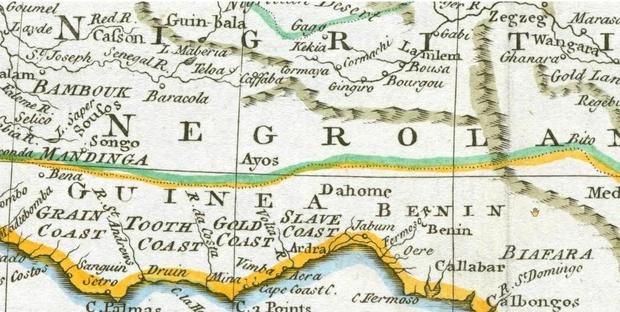 Buy Printable Maps of Juda in West Africa. PDF   OdysseyStore