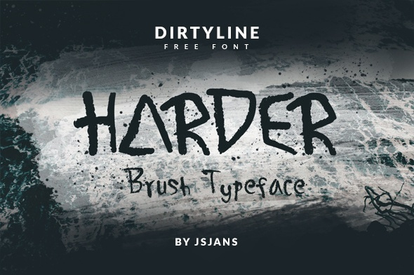 Harder - Free Font