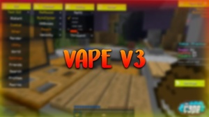 Vape v3 Undetectable ghostclient - NEWEST VERSION!  (Cheap)