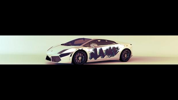 Insane Lamborghini Youtube Banner Template Hyper X Graphic