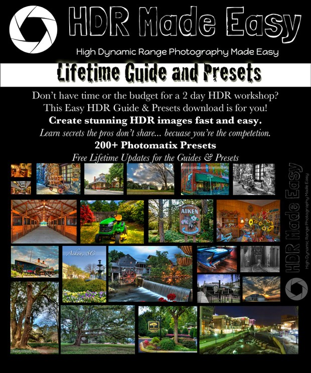 HDR Made Easy Guide & Presets