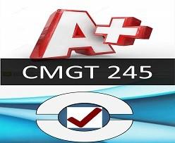CMGT 245 Week 3 Individual: Backup and Recovery