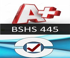 BSHS 445 Week 3 Suicide Prevention Job Aid