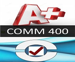 COMM 400 Week 4 Individual: Communications Journal Entry 3 – Medium Versus Message
