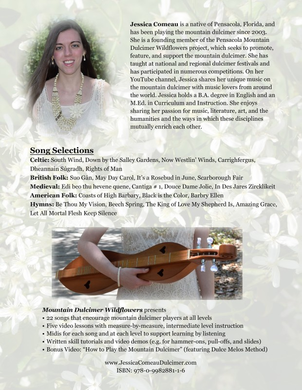 Mountain Dulcimer Wildflowers (Book, Video, and Audio File Set)
