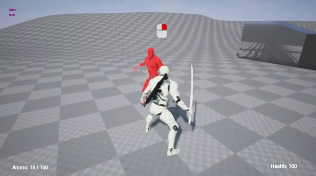 Action game / Melee combat - v2. Counter-attack system. Unreal Engine 4