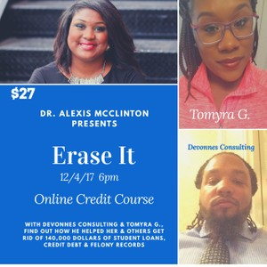 Erase it Credit Class