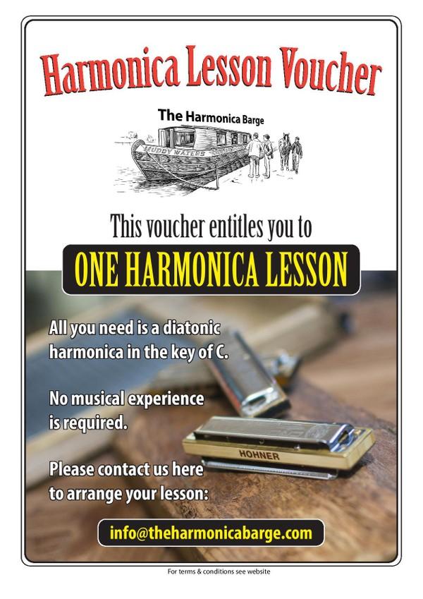 Harmonica Gift Lesson Voucher