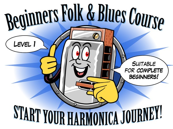 Folk and Blues Course- Level 1