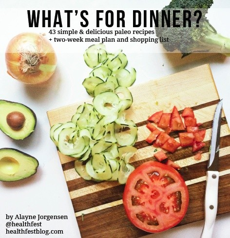What's For Dinner? Paleo Recipes & Meal Plans