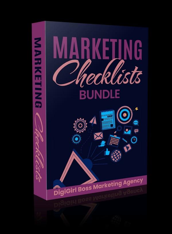 Marketing Checklists Bundle
