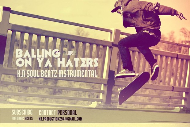 Swag Trap/HipHop/Rap Instrumental - Ballin On Ya Haters