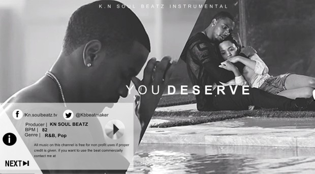 You Deserve - R&B Trey Songz Type Beat Instrumental