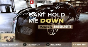 Cant Hold Me Down - Aggressive Hard | Hip Hop | Rap | Beat Instrumental 2015