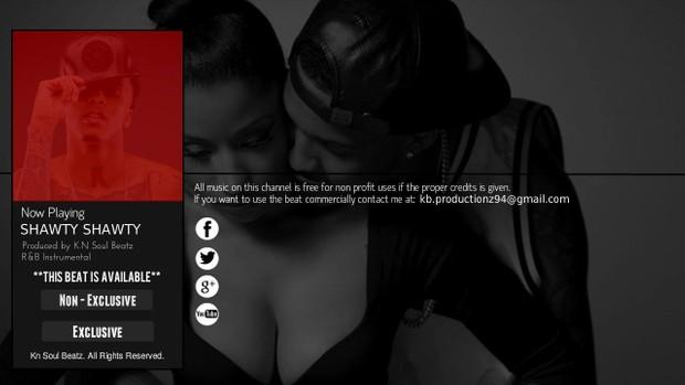 Shawty Shawty - R&B Trey Songz | Chris Brown Type Beat Instrumental