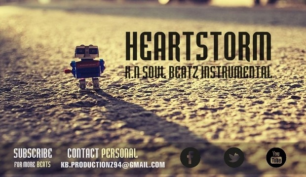HeartStorm - R&B Love Song Instrumental Beat