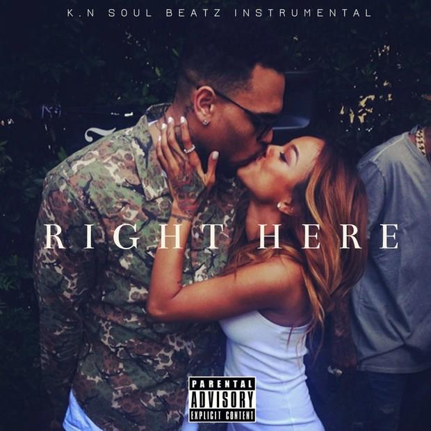 Right Here - Chris Brown | Usher R&B Type Beat Instrumental