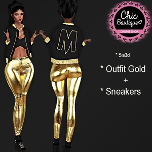 CHIC 005 Outfit Gold