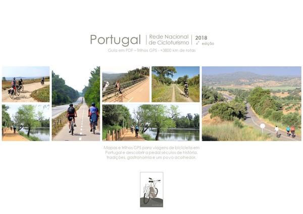 Rede Nacional de Cicloturismo - Road Book 2018, versão portuguesa