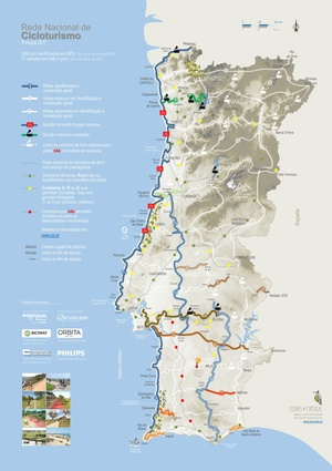 Rede Nacional de Cicloturismo, Portugal - Road Book 2017