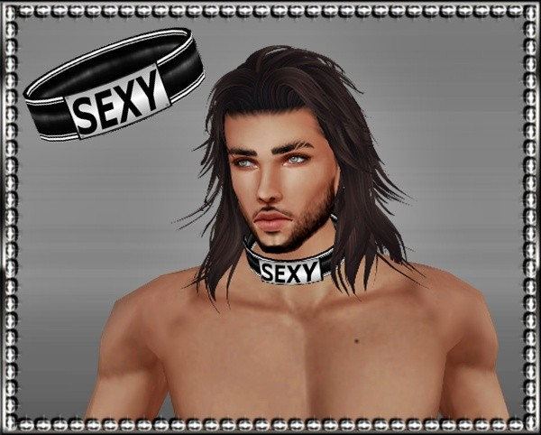 Male Collar Mesh -*Catty Only*