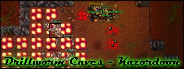 [RP][FACC/PACC] Drillworm Caves - Kazordoon