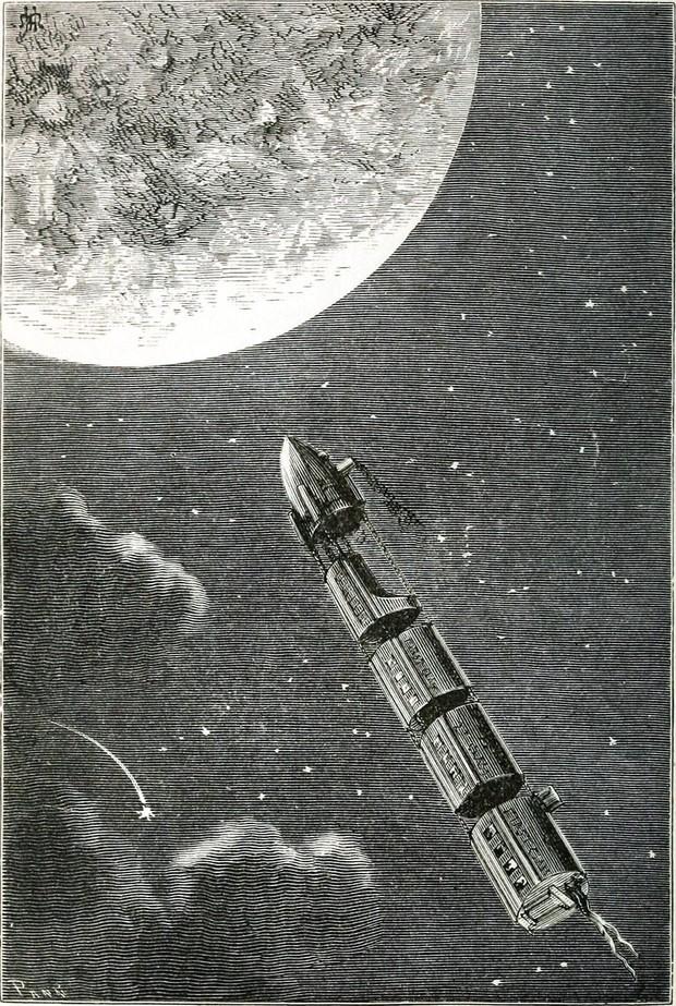 Audiolibro: Alrededor de la Luna